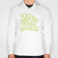 internet Hoodies featuring MYSTERIOUS INTERNET by Josh LaFayette