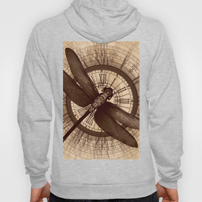 Steampunk - Mechanical Dragonfly Hoody