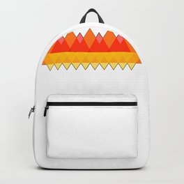 Abstract Autumn Triangles Backpack
