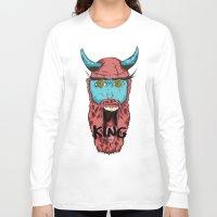 viking Long Sleeve T-shirts featuring Viking by Thekrls