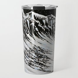 Starlit Cliffs Travel Mug