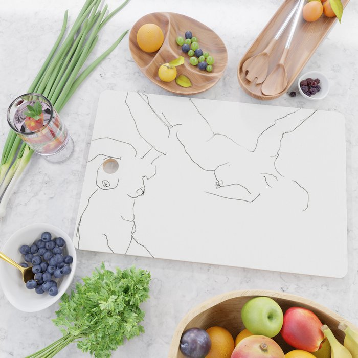 Connected Cutting Board
