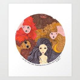 Giocondas Art Print