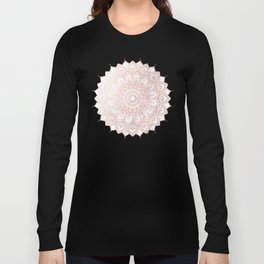 Pleasure Rose Gold Long Sleeve T-shirt