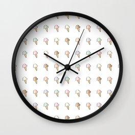 Six Flavors Wall Clock
