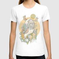 moss T-shirts featuring moss by Cassidy Rae Marietta