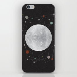 Moon iPhone Skin