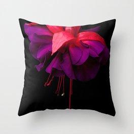 The Ballerina's Throw Pillow
