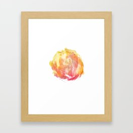 abstract watercolor 10 Framed Art Print