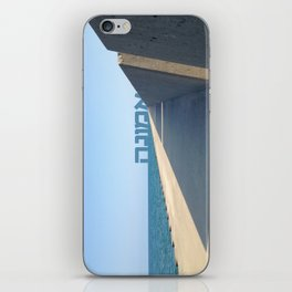 Emuna (Faith - Hebrew) iPhone Skin