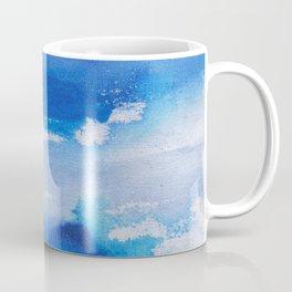 Blue sea watercolor Coffee Mug
