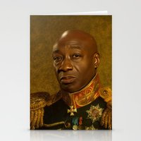replaceface Stationery Cards featuring Michael Clarke Duncan - replaceface by replaceface