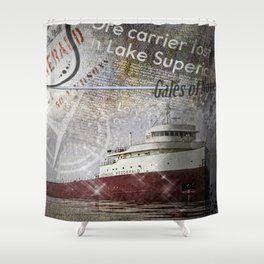 Edmund Fitzgerald Shower Curtain