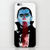 the vampire diaries iPhone & iPod Skins featuring Vampire by Alvaro Tapia Hidalgo