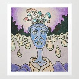 ron's trip Art Print