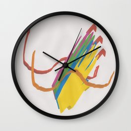 HELPINGhands Wall Clock