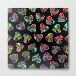 Hearts of glass Metal Print