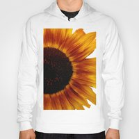sunflower Hoodies featuring Sunflower5 by Regan's World