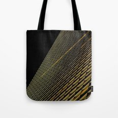 Night Building Facade Tote Bag