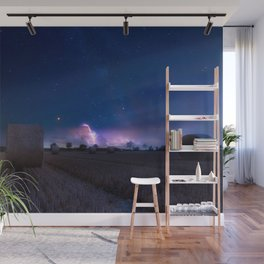 Summer Storm in the Distance Wall Mural