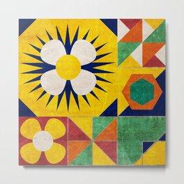Spanish tiles Metal Print