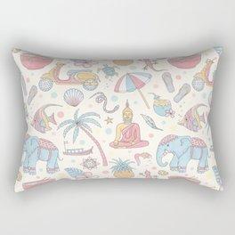 Dream of Thailand Rectangular Pillow
