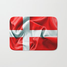 Denmark Flag Bath Mat