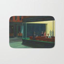 Edward Hopper's Nighthawks Bath Mat