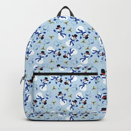 Happy Snowmen Backpack