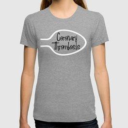 DgM CORONARY THROMBOSIS T-shirt
