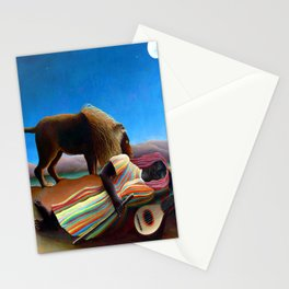 Henri Rousseau Sleeping Gypsy Stationery Cards