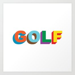 Golf Wang Art Print