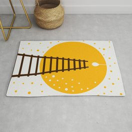 Ladder and Lamp Rug