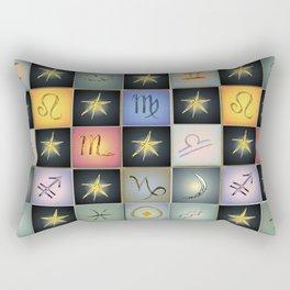 Astrologia Rectangular Pillow