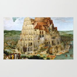 The Tower Of Babel Rug