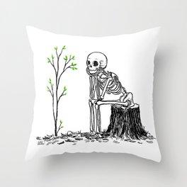 Good Things Growing Throw Pillow
