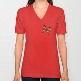 butterfly Union and Jack Unisex V-Neck