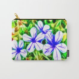 Blue Plumbago flower Carry-All Pouch