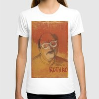 rothko T-shirts featuring 50 Artists: Mark Rothko by Chad Beroth