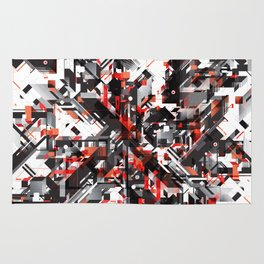 Space distortion Rug
