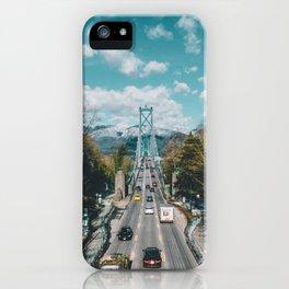 Lions Gate Bridge iPhone Case