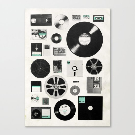Data Canvas Print