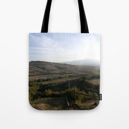 As the Valley Sighs Tote Bag