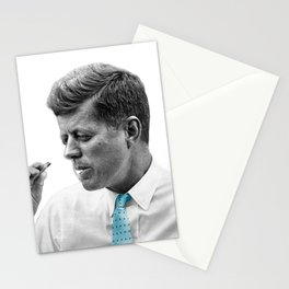 John F Kennedy Smoking Stationery Cards