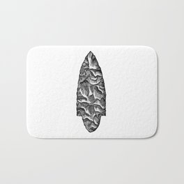 Stone spearhead Bath Mat