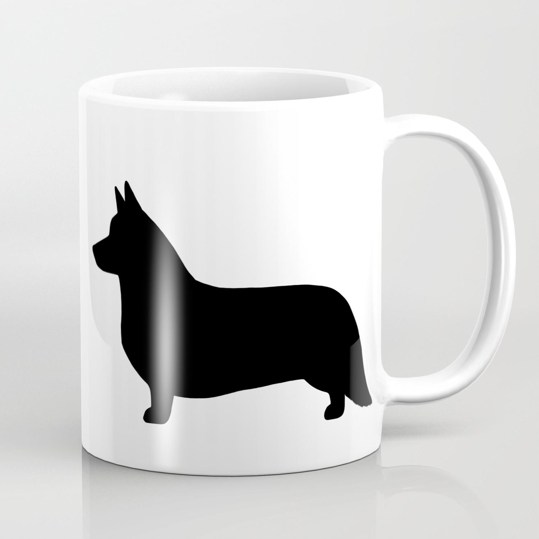 Cardigan Welsh Corgi Dog Mug Cartoon Pop-Art Coffee Tea Cup 11oz Ceramic