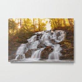 Falls On Wolf Creek, GA Metal Print