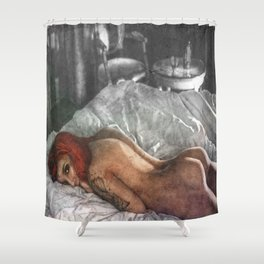 The Morning After Shower Curtain