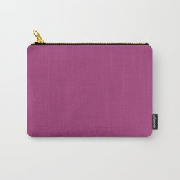Maximum Red Purple - solid color Carry-All Pouch