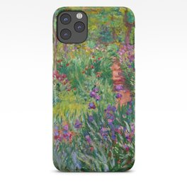 "Claude Monet ""The Iris Garden at Giverny"", 1899-1900 iPhone Case"